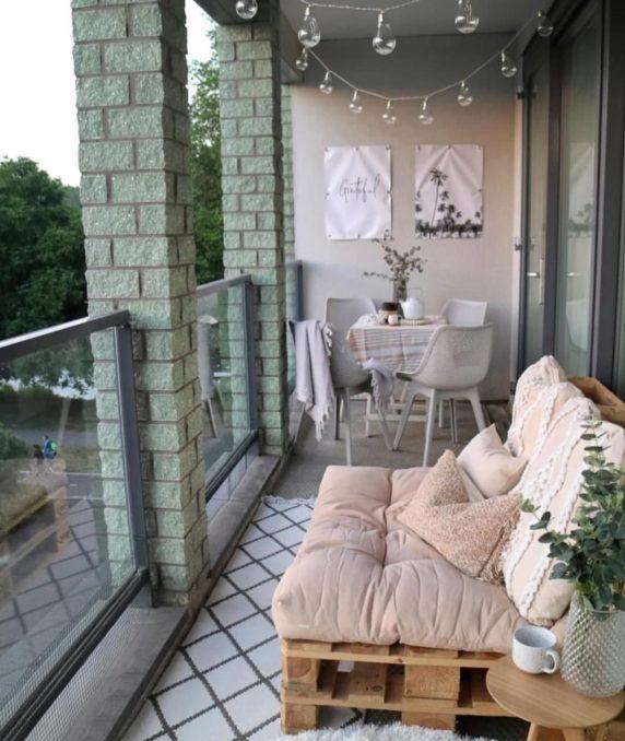 Балкон loft