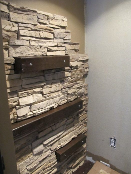 Стены лофт своими руками
