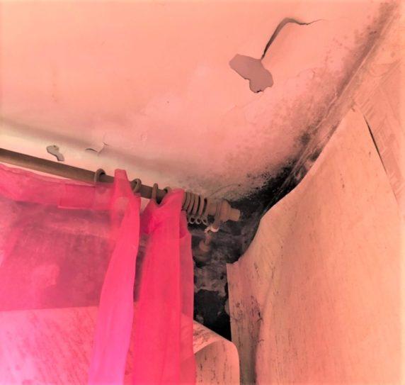 Протечка крыши в многоквартирном доме