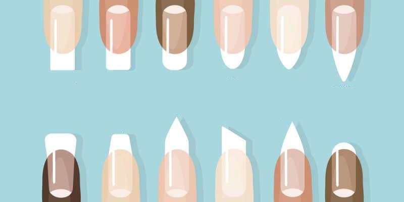 Типы ногтевых пластин