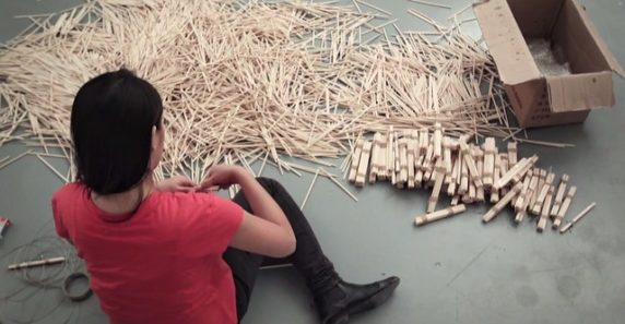 Творчество из китайских палочек