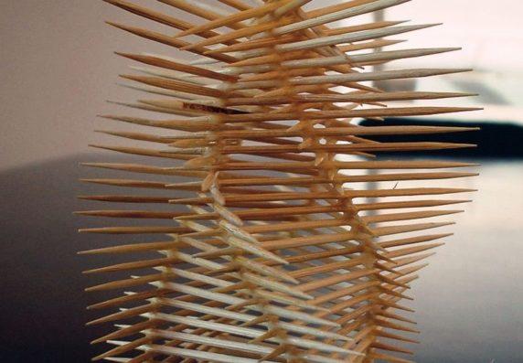 Абстракция из китайских палочек