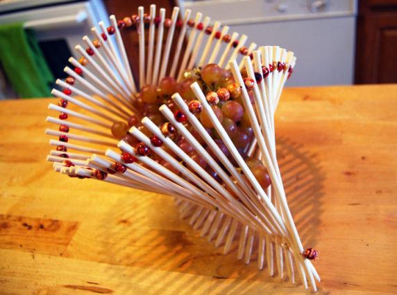 Миска из китайских палочек