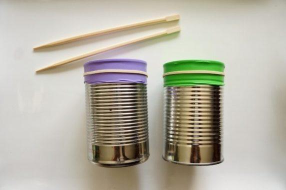 Китайские палочки вместо барабанных