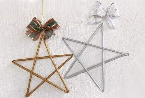 Звезда из китайских палочек