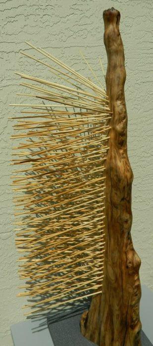 Творчество Подставка Рама Мыльница Фигура Рама Держатель из китайских палочек своими руками