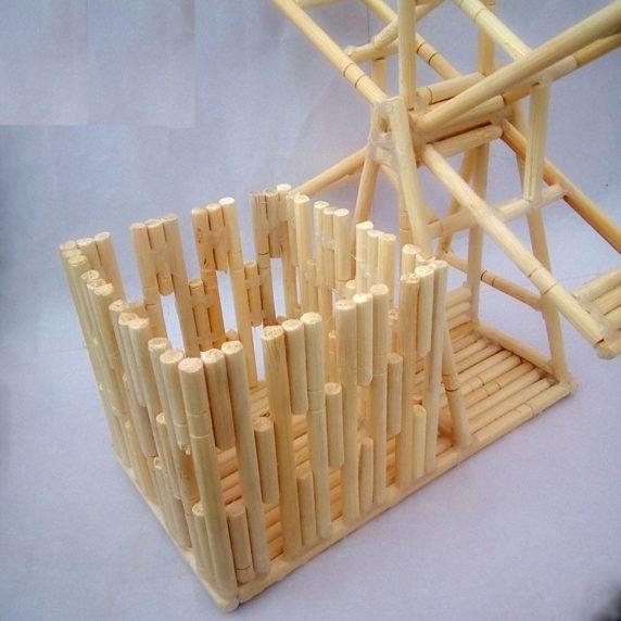 Мебель для куклы из китайских палочек