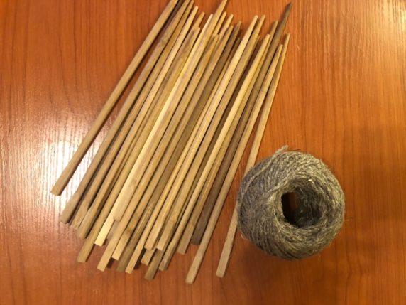 Китайские палочки вместо дров