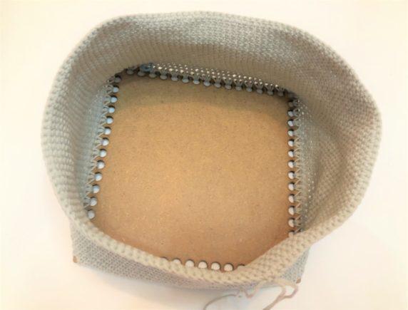 Вязание корзины своими руками