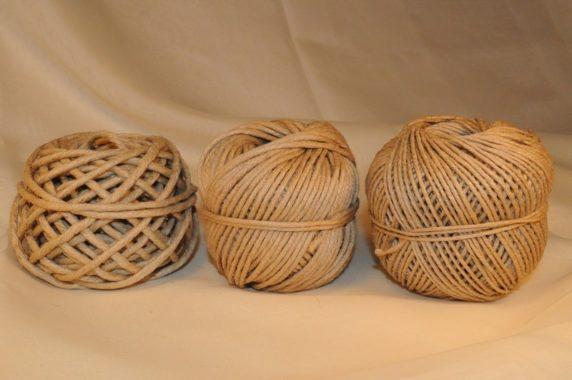 Джут для плетения корзины своими руками