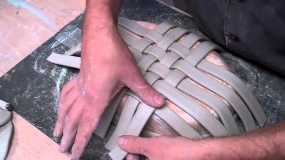 Корзина из полимерной глины своими руками