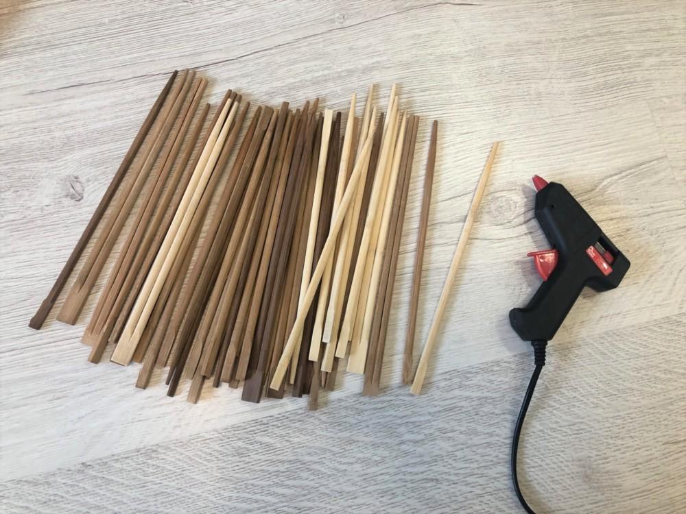 Бамбуковые палочки для изготовления корзины своими руками