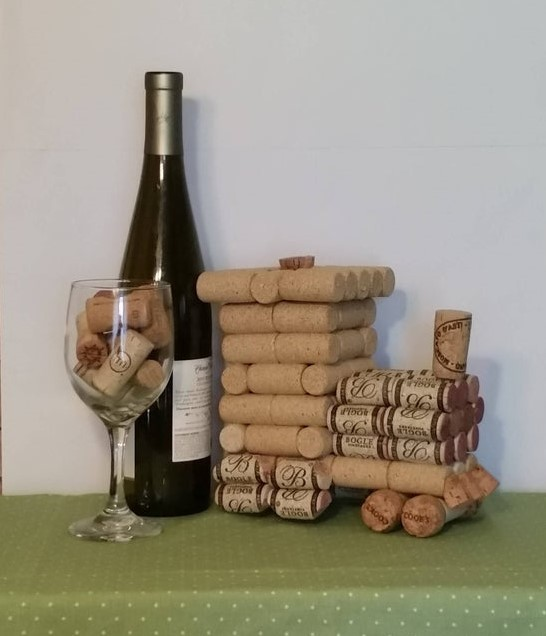 Поделки из пробок от вина своими руками