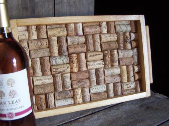 Поделки из винных пробок для дома