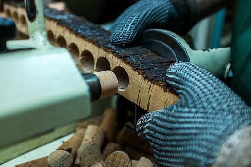 Производство пробок для вина