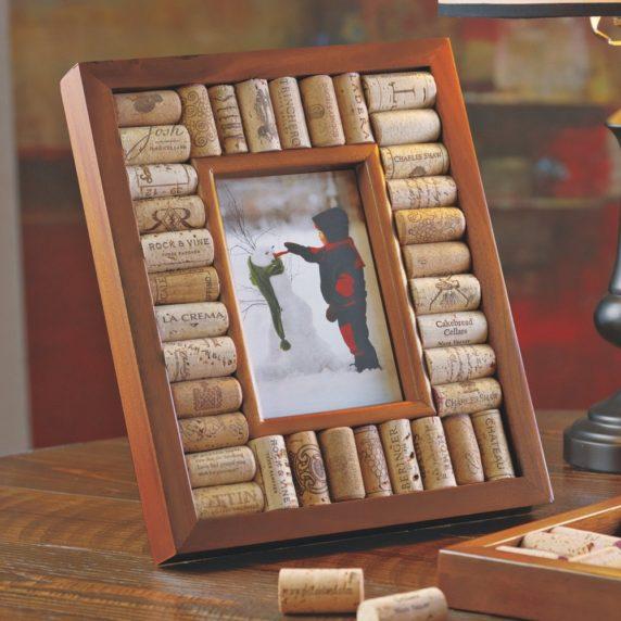 Рамка для картины своими руками из пробок от вина