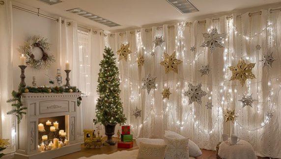 Новогодний интерьер комнаты