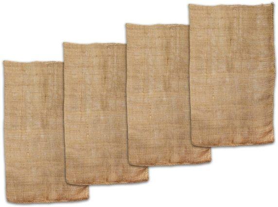 Холщовая ткань для елки своими руками