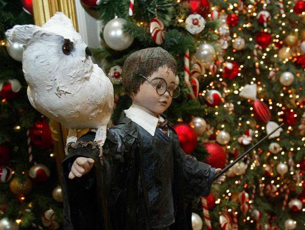 Новогодний интерьер в стиле Гарри Поттера