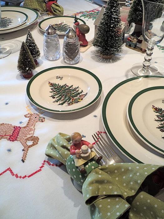 Рождественская сервировка