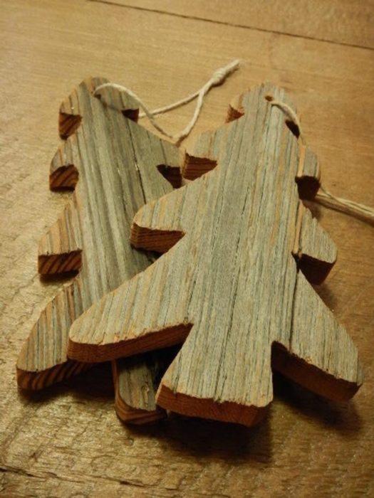 Елка из массива дерева своими руками