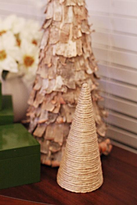 Новогоняя елка из веревки своими руками