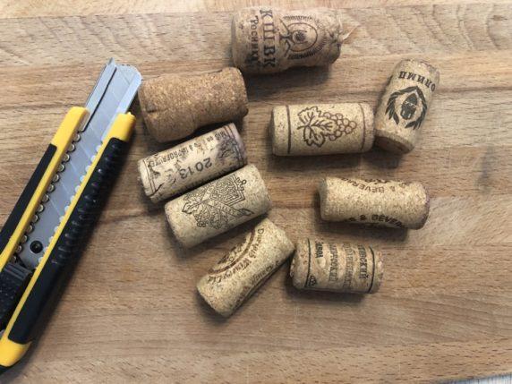 Пробки от вина для изготовления елки