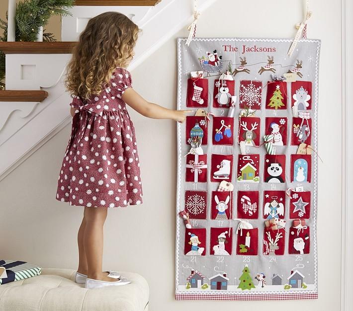Новогодний детский календарь