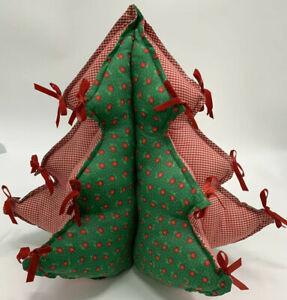 Объемная елка из ткани