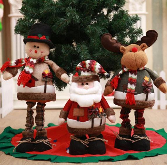 Дед мороз в новогоднем интерьере