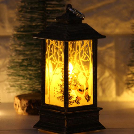 Свечи фонарики для интерьера в Новый год