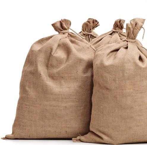 Холщовый мешок для изготовления елки