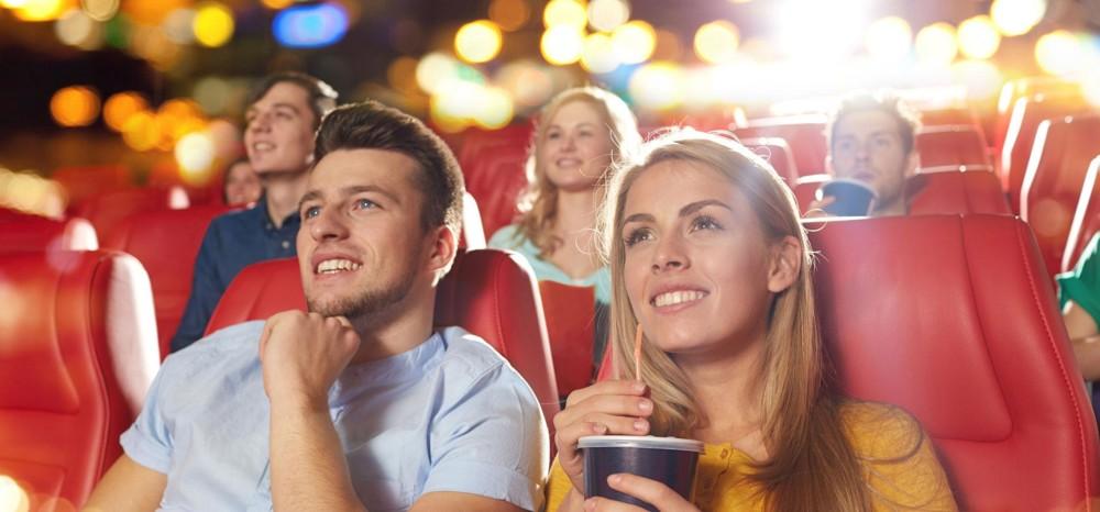 Кинотеатр в Новогонюю ночь
