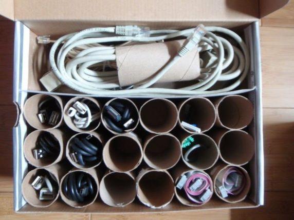 Втулка для хранения проводов