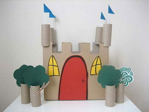 Замок из втулок своими руками