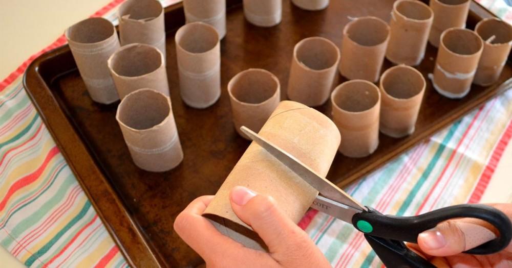 Втулки от туалетной бумаги для поделок