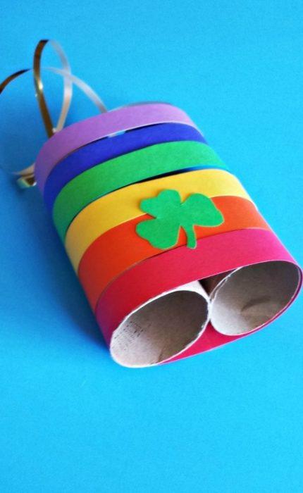 Бинокль для ребенка из втулок от бумаги