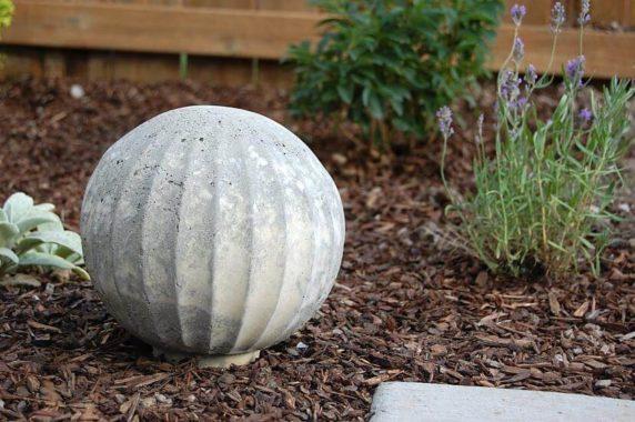 Фигурка из цемента для сада своими руками