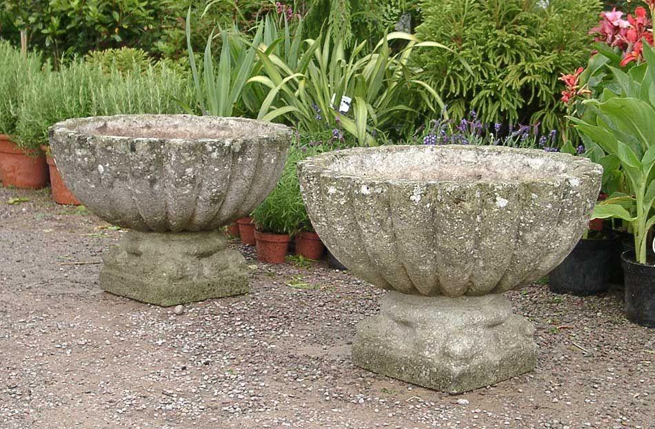 Цементный вазон для сада своими руками