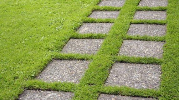 Дорожка для дачи из бетона своими руками