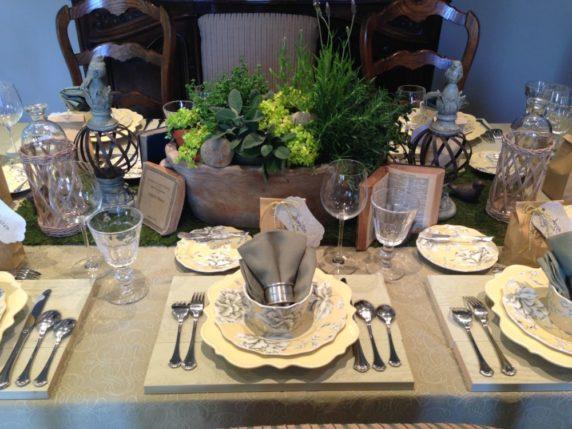 Сервировка стола праздничная