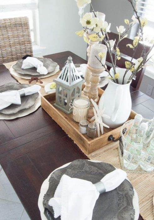 Сервировка стола для ужина