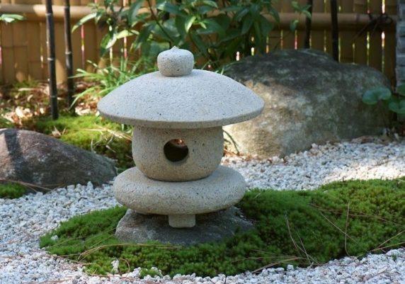 Садовый светильник из цемента своими руками