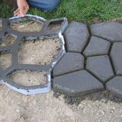 Дорожка для дачи из бетона