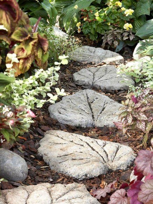 Садовый декор из цемента