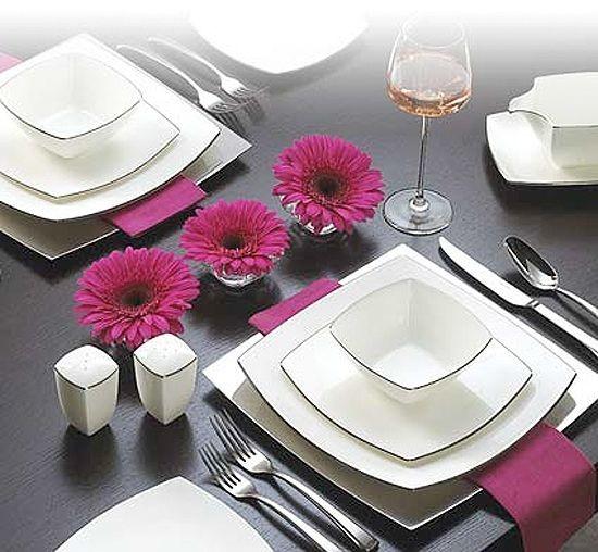 Сервировка стола для друзей