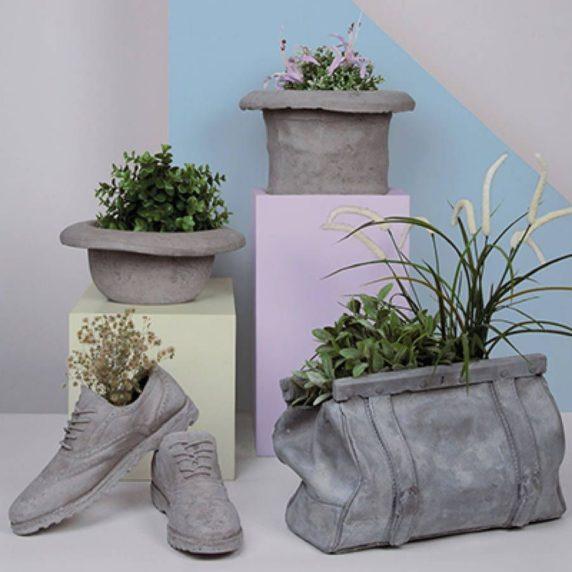 Статуэтка из бетона для сада своими руками