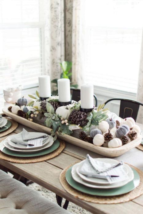 Сервировка стола красивая