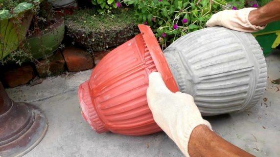 Поделки для сада из цемента своими руками