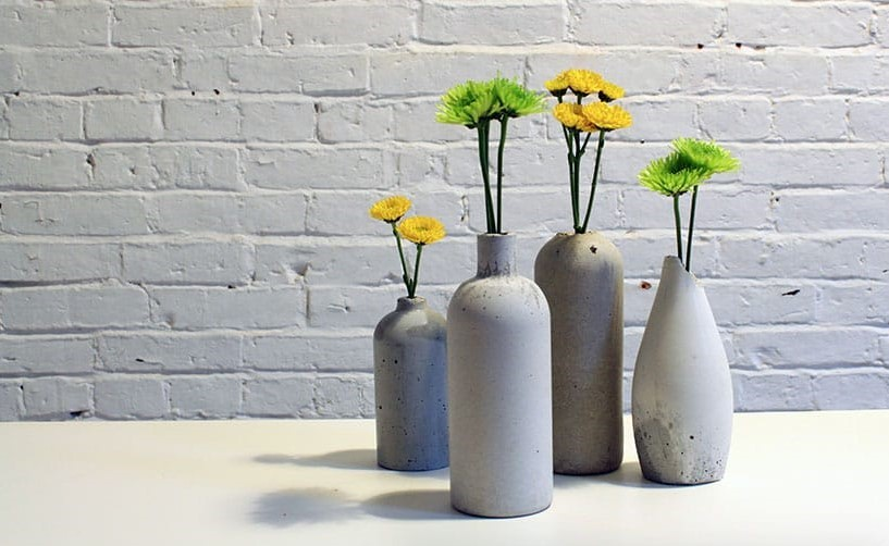 Садовые вазы из цемента